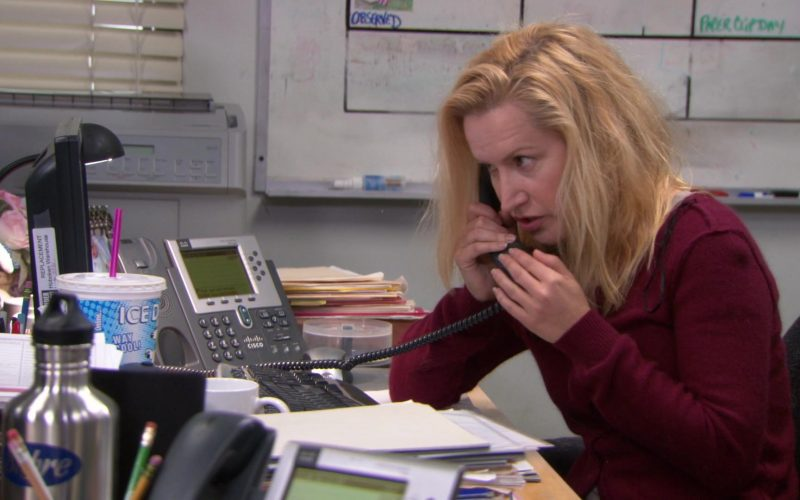 Cisco Phone Used by Angela Kinsey (Angela Martin) in The Office (5)