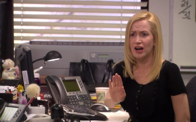Cisco Phone Used by Angela Kinsey (Angela Martin) in The Office