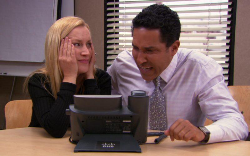 Cisco Phone Used by Oscar Nunez (Oscar Martinez) & Angela Kinsey (Angela Martin) in The Office (6)