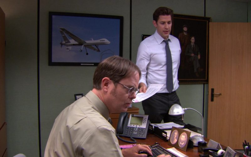 Cisco Phone Used by Rainn Wilson (Dwight Schrute) in The Office (1)