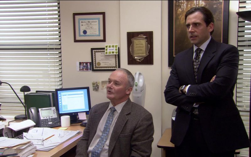 Cisco Phone and Gateway Monitor Used by Creed Bratton in The Office