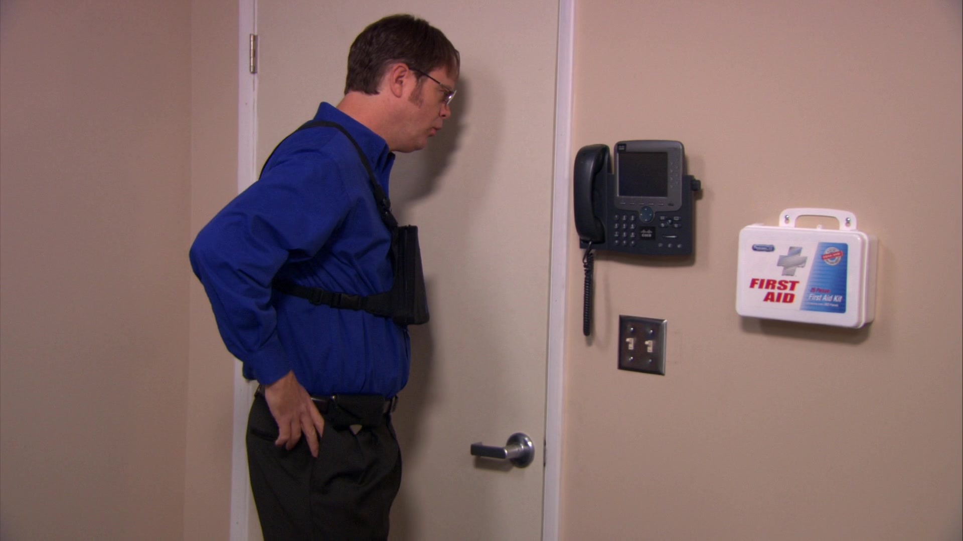 Cisco Phone in The Office – Season 8, Episode 17,
