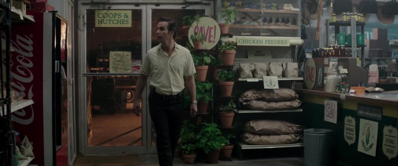 Coca-Cola Refrigerator in The Best of Enemies (2019) - Movie Product Placement