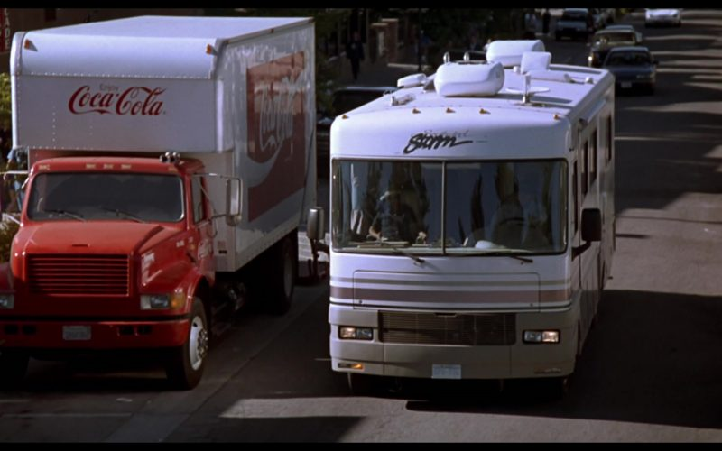 Coca-Cola Truck & Fleetwood Southwind Storm Motorhome in Beethoven's 3rd (2)