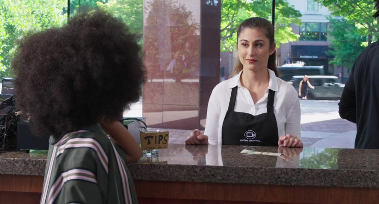 Coffee Beanery Coffee Shop in Little (2019) - Movie Product Placement