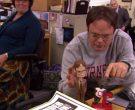 Cornell University Grey Sweatshirt Worn by Rainn Wilson (Dwight Schrute) in The Office (9)