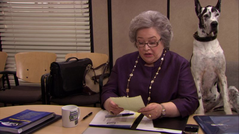 "DG Glasses Worn by Kathy Bates (Jo Bennett) in The Office – Season 6, Episode 26, ""Whistleblower"" (2010) - TV Show Product Placement"