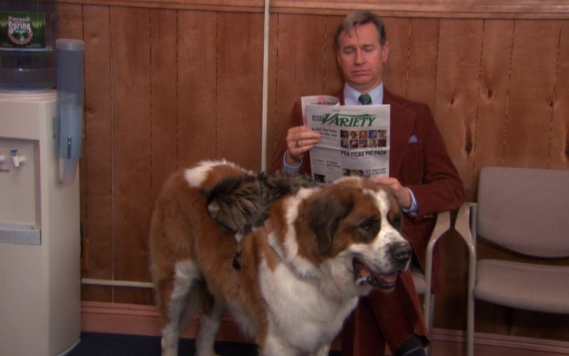 Daily Variety Newspaper in The Office