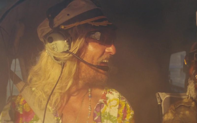 David Clark Headset Used by Matthew McConaughey in The Beach Bum