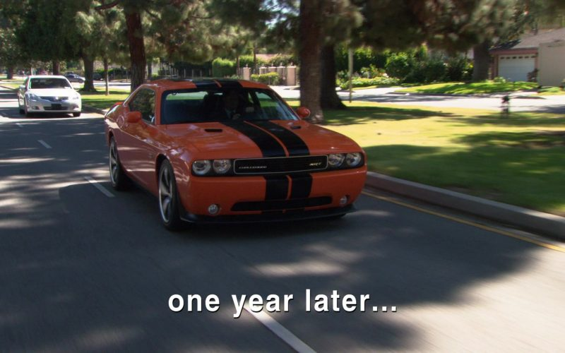 Dodge Challenger SRT-8 Orange Car Used by Rainn Wilson (Dwight Schrute) in The Office (1)