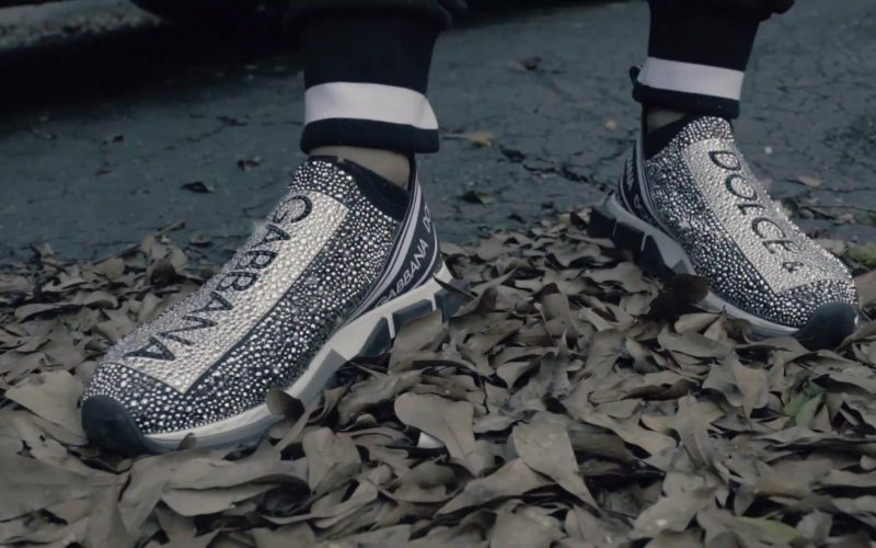 Dolce&Gabbana Shoes Worn by Key Glock in Spazzin Out (3)