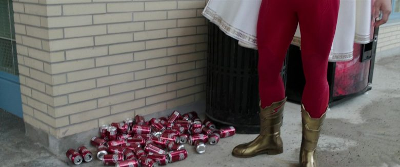 Dr Pepper Vending Machine in Shazam! (2019) - Movie Product Placement
