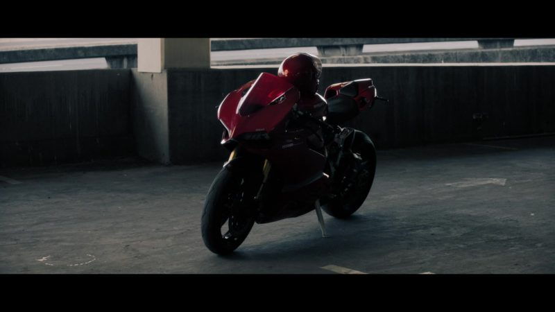 Ducati Red Motorcycle in Good Omens - Season 1, Episode 5, The Doomsday Option (2019) - TV Show Product Placement