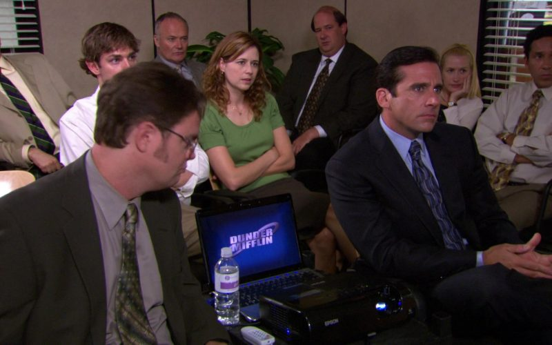Epson Projector in The Office – Season 4, Episodes 3-4, Dunder Mifflin Infinity