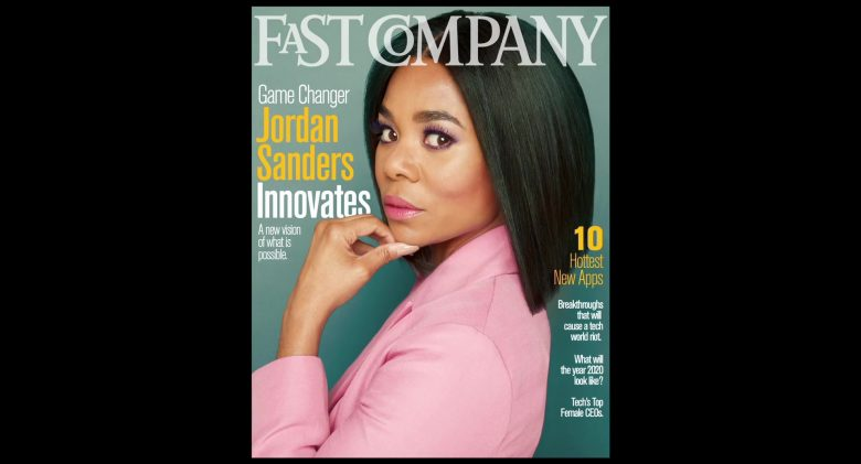 Fast Company Magazine Cover in Little (2019) - Movie Product Placement