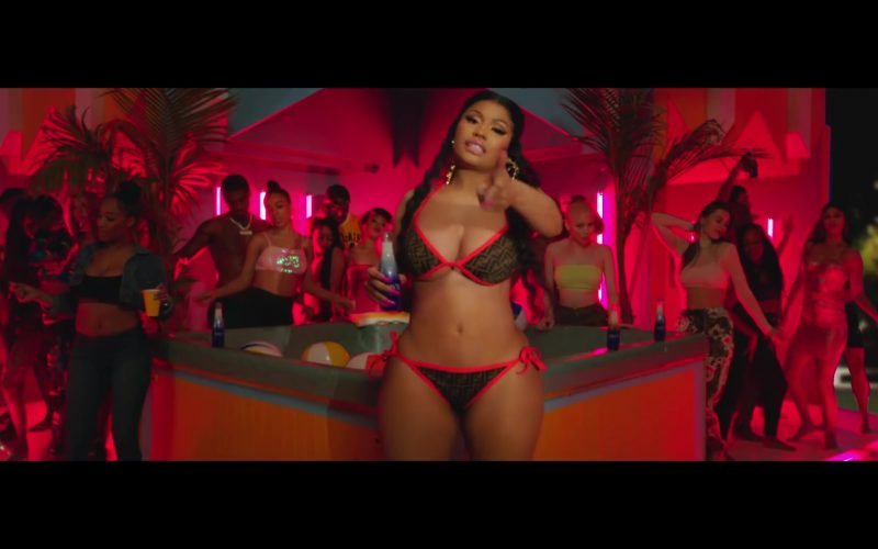 Fendi Bra and Bikini (Swimwear) Worn by Nicki Minaj in Megatron (8)
