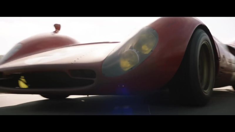 Ferrari Sports Car Used by Christian Bale in Ford v. Ferrari (2019) - Movie Product Placement
