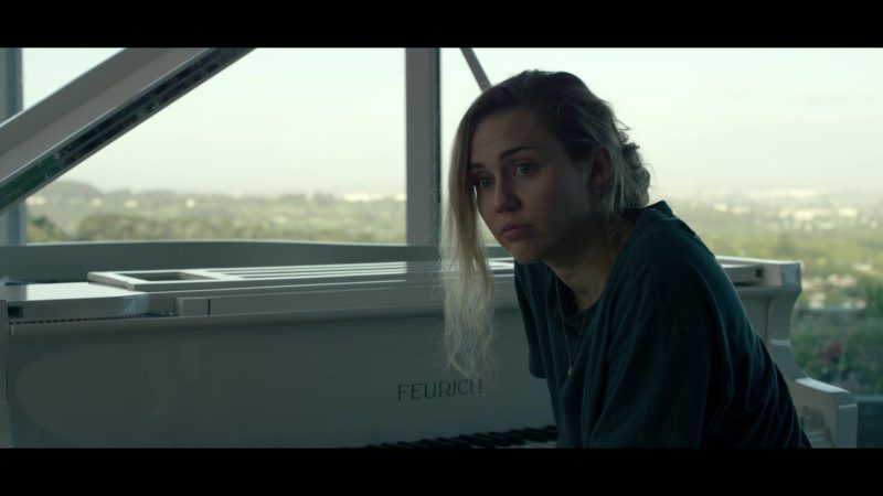 """Feurich Piano Used by Miley Cyrus in Black Mirror - Season 5, Episode 3, """"Rachel, Jack and Ashley Too"""" (2019) - TV Show Product Placement"""