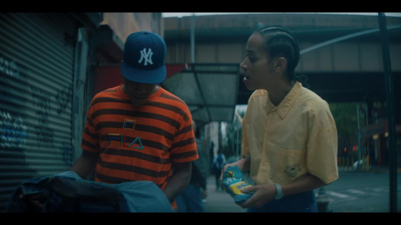 Fila Orange Striped T-Shirt and Wise Potato Chips in When They See Us - Season 1, Episode 4 (2019) - TV Show Product Placement