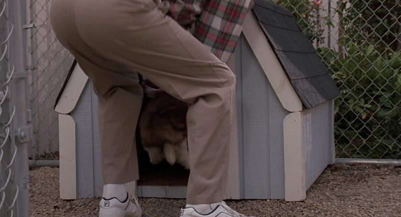 Fila Sneakers Worn by Charles Grodin in Beethoven (1992) - Movie Product Placement
