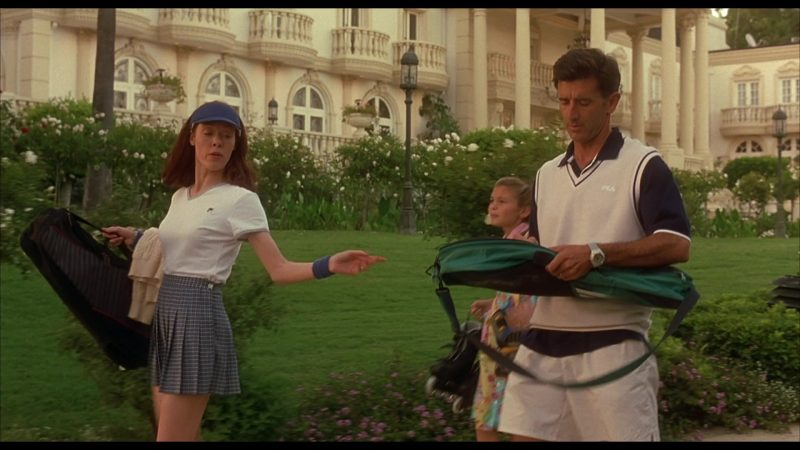 Fila Tee Worn by Veanne Cox & Fila Vest Worn by Matt McCoy in Beethoven's 4th (2001) - Movie Product Placement