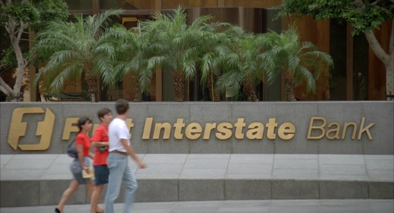 First Interstate Bank in Beethoven's 2nd (1993) - Movie Product Placement