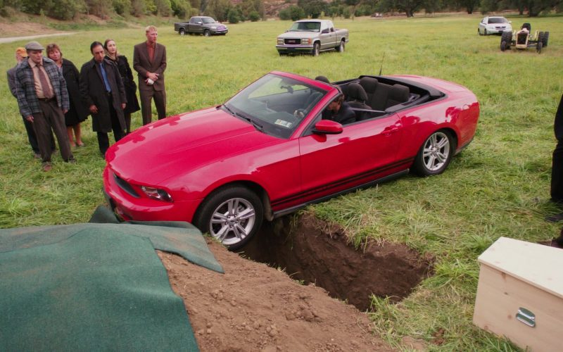 Ford Mustang Convertible Red Car Used by Thomas Middleditch (Jeb Schrute, Dwight Schrute's Brother)