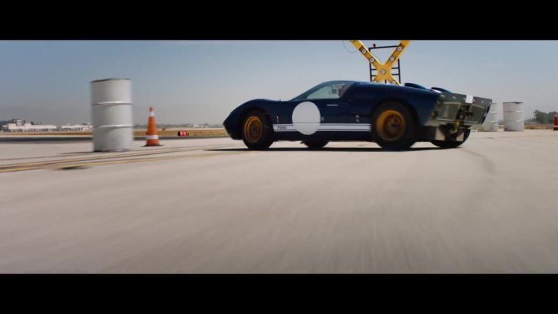 Ford Sports Car Used by Matt Damon in Ford v. Ferrari (2019) - Movie Product Placement