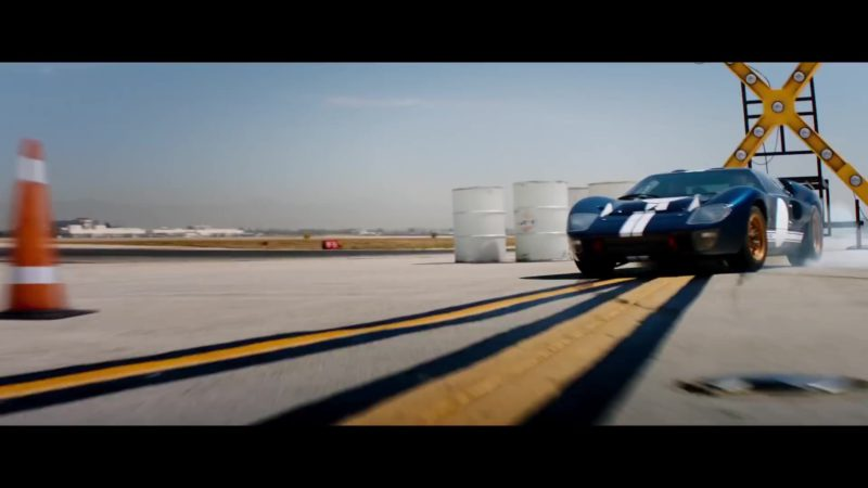 Ford Sports Car Used by Matt Damon in Ford v. Ferrari (2019) Movie Product Placement