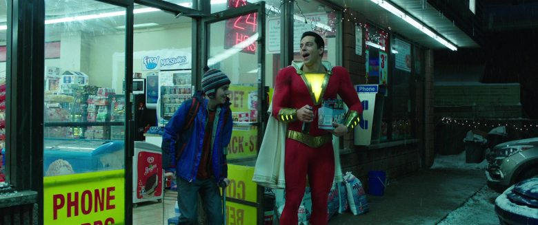 F'real Milkshakes in Shazam! (2019) - Movie Product Placement