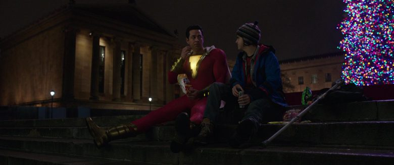 Fritos Chips Held by Zachary Levi in Shazam! (2019) - Movie Product Placement