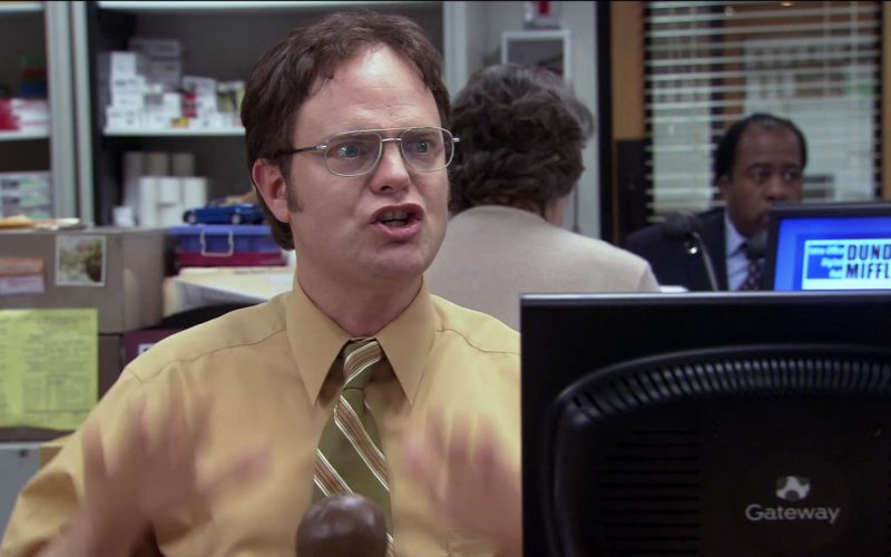 Gateway Computer Monitor Used by Rainn Wilson (Dwight Schrute) in The Office