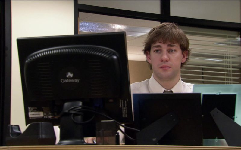 Gateway Monitor Used by John Krasinski (Jim Halpert) in The Office (1)
