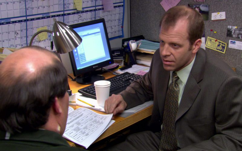 Gateway Monitor Used by Paul Lieberstein (Toby Flenderson) in The Office