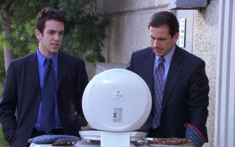 George Foreman Lean Mean Fat Reducing Grilling Machine Used by Steve Carell (Michael Scott) in The Office