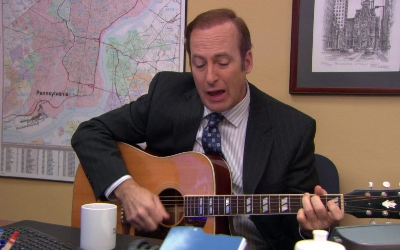 Gibson Guitar Used by Bob Odenkirk in The Office