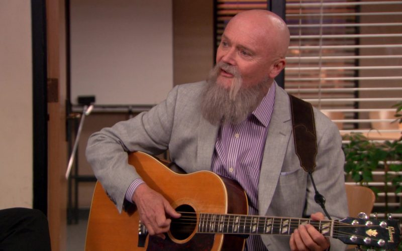 Gibson Guitar Used by Creed Bratton in The Office (3)