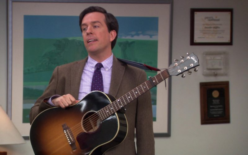 Gibson Guitar Used by Ed Helms (Andy Bernard) in The Office (1)