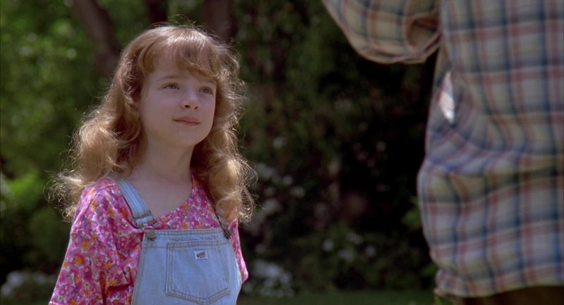 Guess Denim Jumpsuit Worn by Sarah Rose Karr in Beethoven's 2nd (1993) - Movie Product Placement