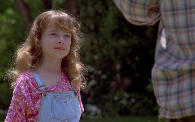 Guess Denim Jumpsuit Worn by Sarah Rose Karr in Beethoven's 2nd (4)