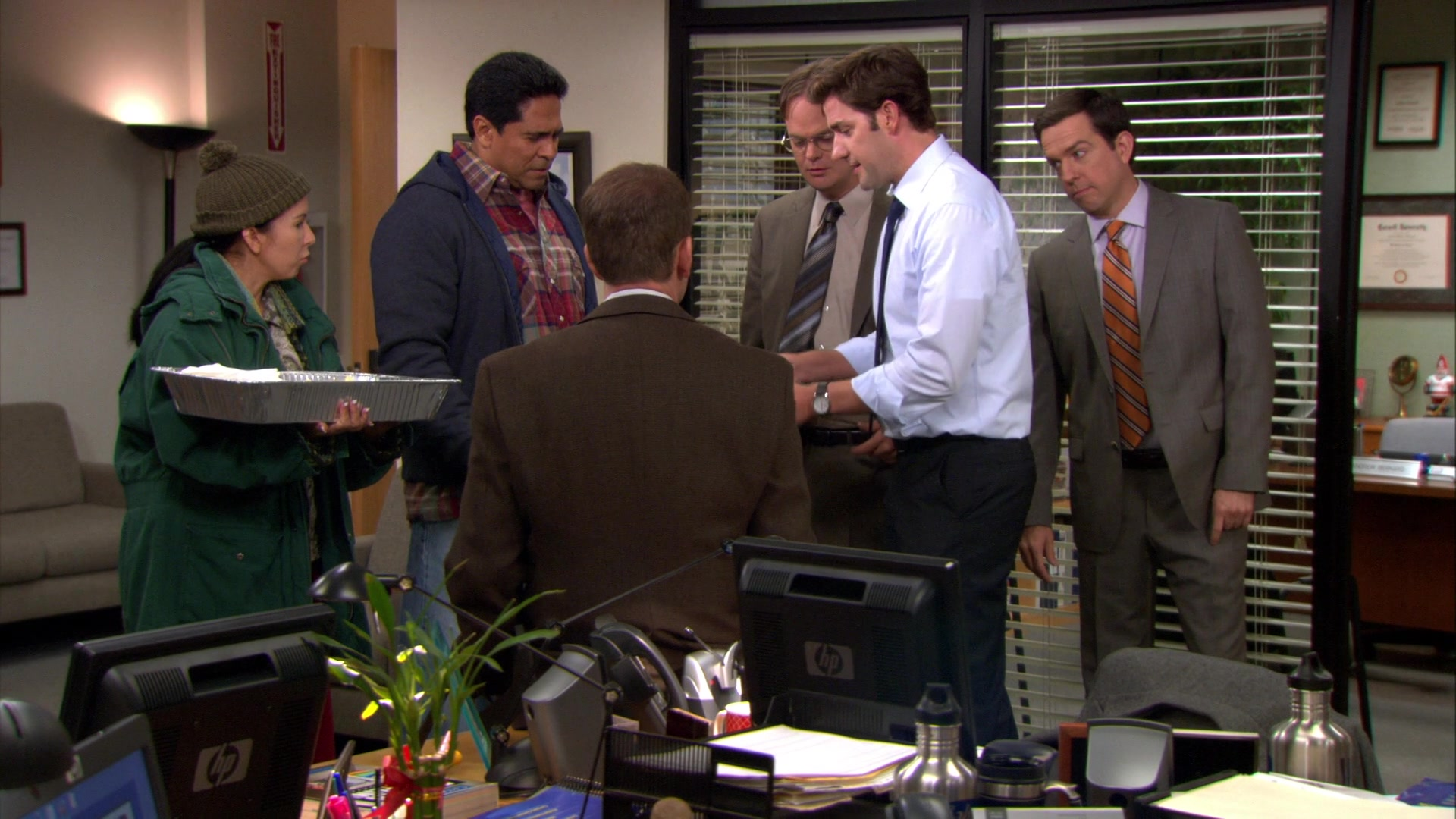 the office season 8 episode 20 shush