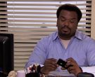 HP Monitor & Apple iPhone Smartphone Used by Craig Robinson ...
