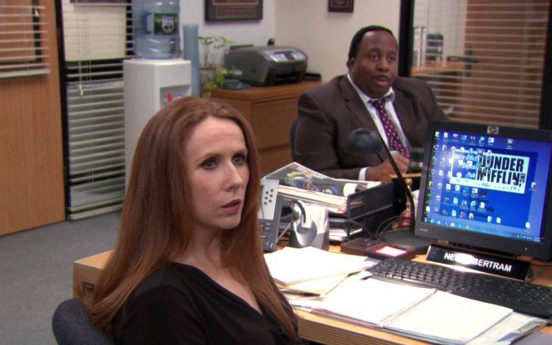 HP Monitor Used by Catherine Tate (Nellie Bertram) in The Office