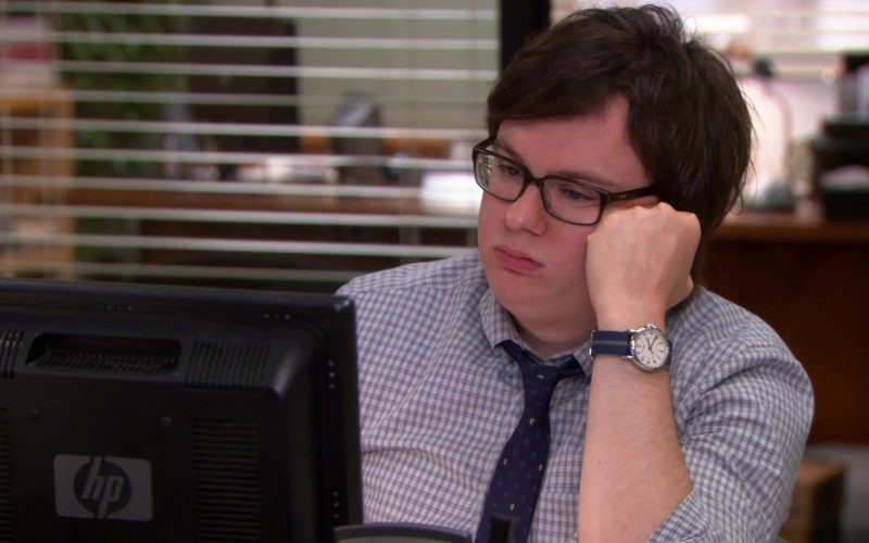 HP Monitor Used by Clark Duke (Clark Green) in The Office (2)
