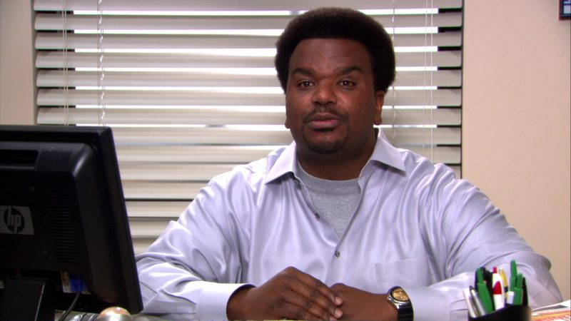 """HP Monitor Used by Craig Robinson (Darryl Philbin) in The Office – Season 8, Episode 18, """"Last Day in Florida"""" (2012) - TV Show Product Placement"""