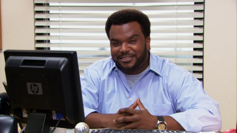 "HP Monitor Used by Craig Robinson (Darryl Philbin) in The Office – Season 9, Episode 10, ""Lice"" (2013) TV Show"