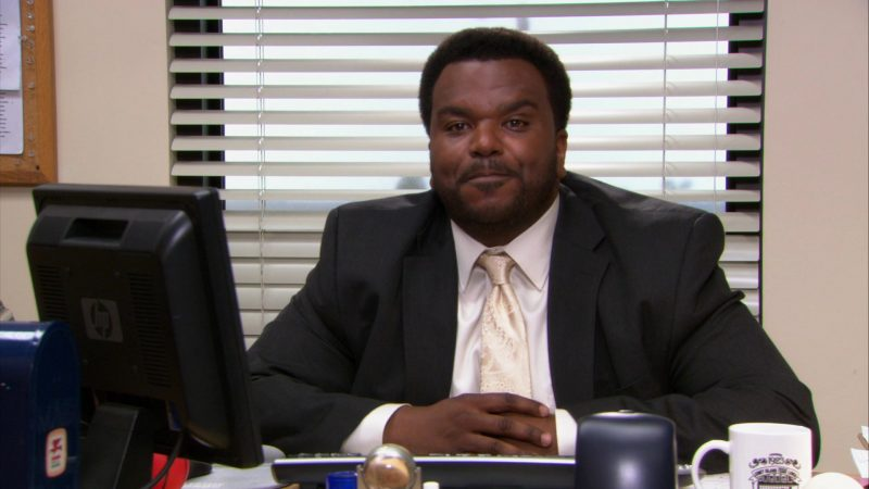 "HP Monitor Used by Craig Robinson (Darryl Philbin) in The Office – Season 9, Episode 2, ""Roy's Wedding"" (2012) TV Show Product Placement"