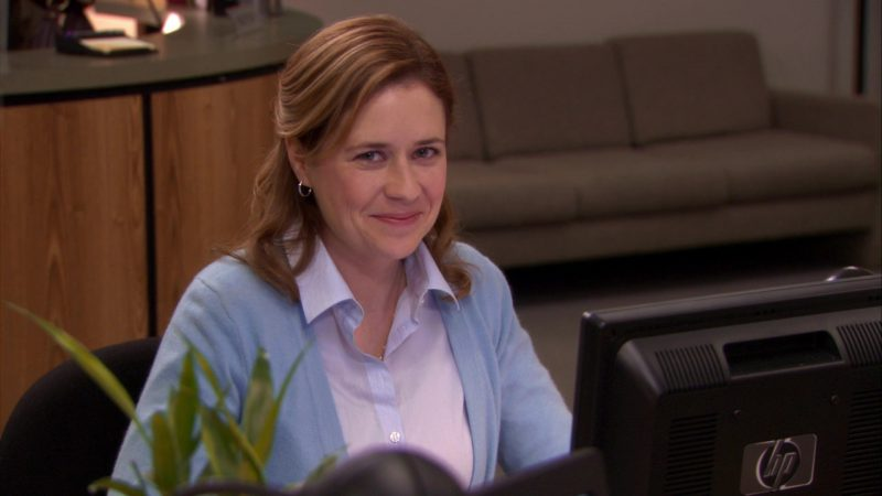 Jenna fischer as pam, movies with babes