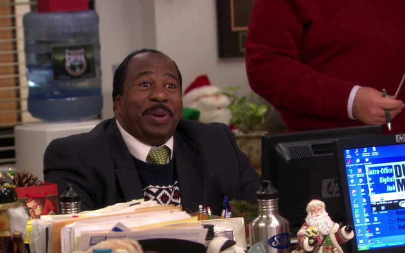 HP Monitor Used by Leslie David Baker (Stanley Hudson) in The Office (1)