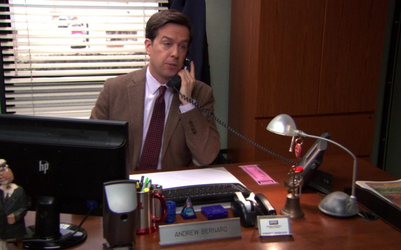 HP Monitor and Cisco Phone Used by Ed Helms (Andy Bernard) in The Office (1)